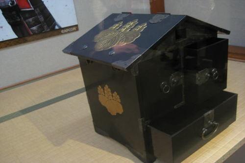 秀吉の茶道具箱