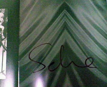 2006年10月15日 金聖響さんのサイン