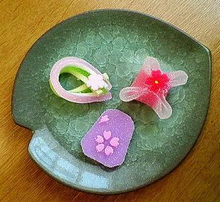 和菓子de桜